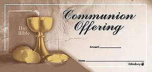 Communion Offering Envelope (Package of 100)