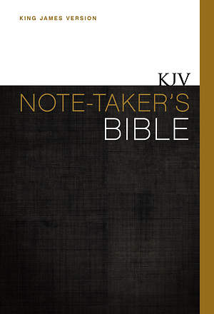KJV Note-Taker's Bible
