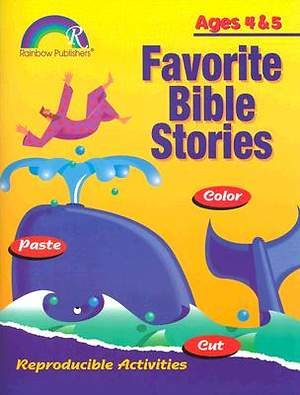 Bible Stories Activities-Ages 4 & 5