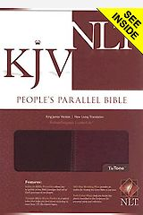 People's Parallel Bible-PR-KJV/NLT with CDROM