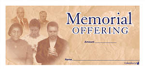 Memorial Offering Envelope (Package of 100)