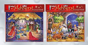 Manger Scene Advent Calendar Assortment [Pack of 12]