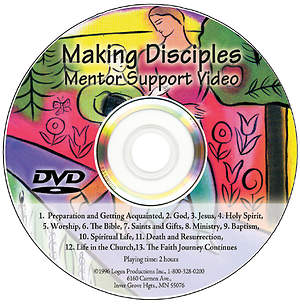 Making Disciples Mentor Support DVD