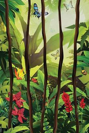 Standard VBS 2014 Jungle Safari Jungle Vines Wall Mural