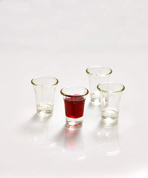 Glass Communion Cups - 20 count