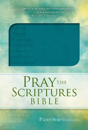 Pray the Scriptures Bible Teal Duravella