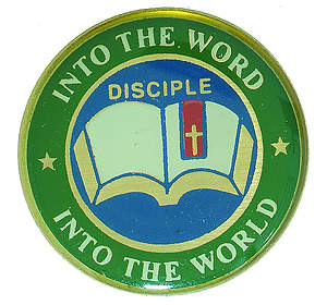 Disciple II Into the Word Into the World: Lapel Pins (Package of 6)
