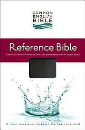 CEB Common English Reference Bible, Bonded Leather Black