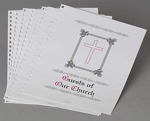 Extra Refill Sheets Guests of Our Church (Package of 25)