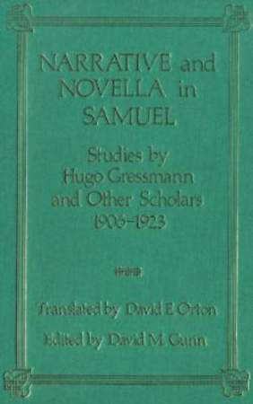 Narrative and Novella in Samuel [Adobe Ebook]