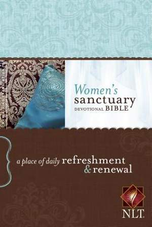 Women's Sanctuary Devotional Bible-NLT