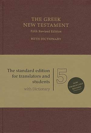 UBS 5th Revised Edition - Greek New Testament