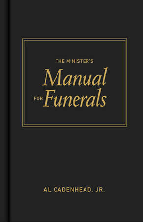 Minister`s Manual for Funerals