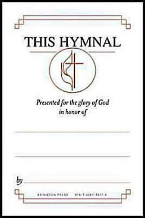 "United Methodist Hymnal Bookplates ""In honor of...""  (Package of 48)"