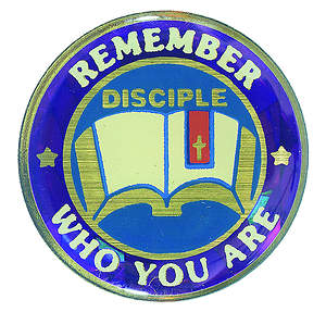Disciple III Remember Who You Are: Lapel Pins (Package of 6)