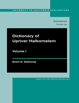 Dictionary of Upriver Halkomelem [Adobe Ebook]