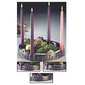 Advent Wreath Journey to Bethlehem