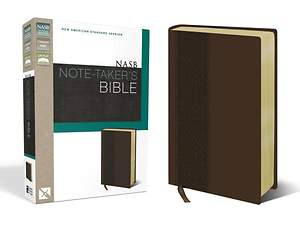 NASB Note-Taker's Bible