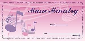 Music Ministry Offering Envelope (Package of 100)