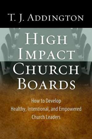 High-Impact Church Boards [ePub Ebook]