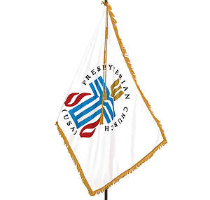Presbyterian 3` X 5` Indoor Printed On One Side Flag