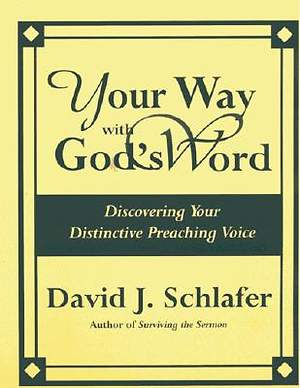 Your Way with God`s Word