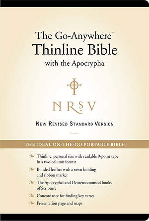 New Revised Standard Version Go-Anywhere Personal Size Thinline Bible with Apocrypha