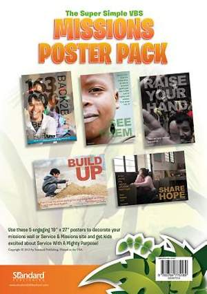 Standard VBS 2014 Jungle Safari Missions Poster Pack