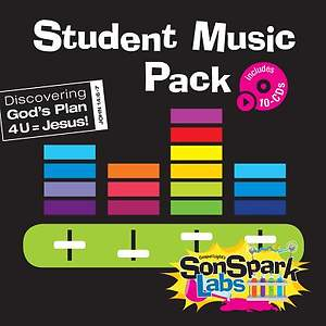Gospel Light SonSpark Student Music Pack CD  Pack of 10