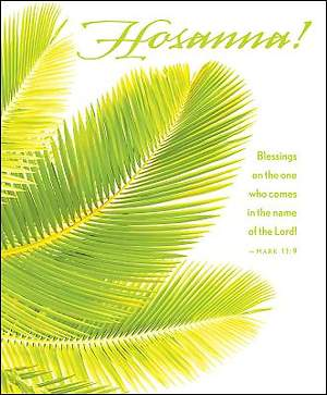 Hosanna Palm Sunday Bulletin 2015, Large (Package of 50)