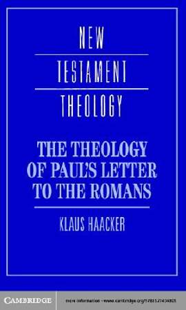 The Theology of Paul's Letter to the Romans [Adobe Ebook]