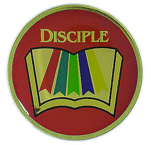 Disciple I-IV Multiphase Lapel Pins (Package of 6)