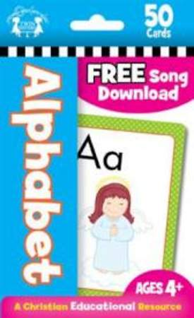 Alphabet 50 CT Flash Cards: A Christian Educational Resource