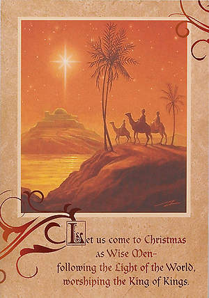 Let Us Come to Christmas Boxed Cards - Box of 25