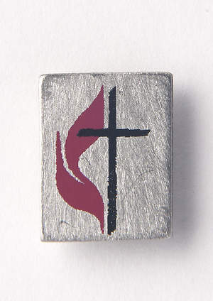 United Methodist Pewter Lapel Pin