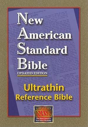 Ultrathin Reference Bible-NASB