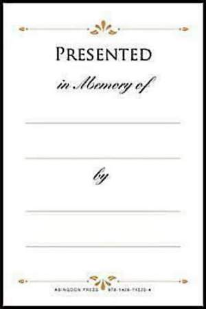 Presented in Memory Bookplates (Package of 48)