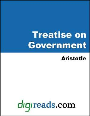 A Treatise on Government [Adobe Ebook]