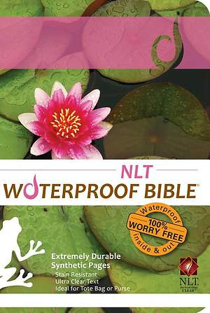 Waterproof Bible-NLT-Lilypad