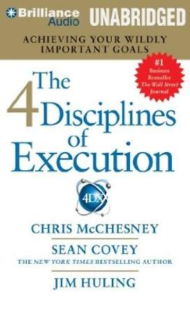 The 4 Disciplines of Execution Audiobook