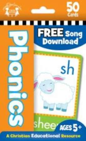 Phonics 50 CT Flash Cards: A Christian Educational Resource