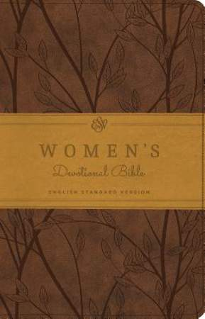 ESV Women's Devotional Bible (Trutone, Brown, Birch Design)
