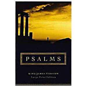 KJV Large Print Psalms