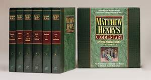 Matthew Henry`s Commentary on the Whole Bible: 6 Volume Set