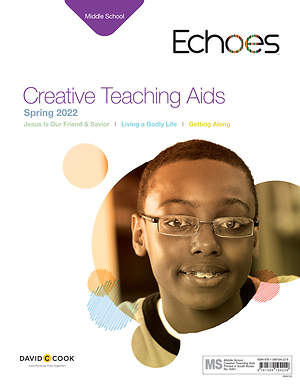 Echoes Middle School Creative Teaching Aids: Spring 2015