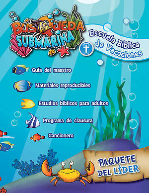 Concordia Spanish VBS 2015 Underwater Quest Leader Package