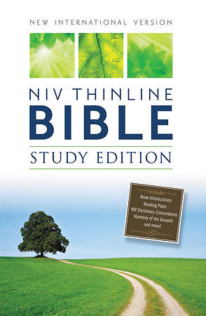 NIV Thinline Bible, Study Edition