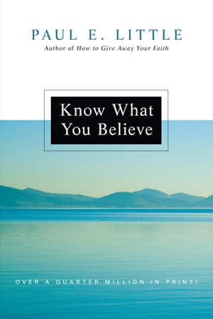 Know What You Believe (Updated)