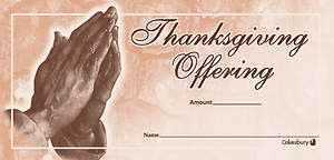 Thanksgiving Offering Envelope (Package of 100)