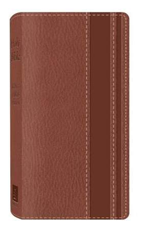 KJV Vest Pocket Bible (Dicarta Brown)